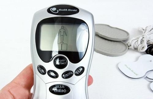Máy massage xung điện giảm đau và những điều cần biết khi sử dụng