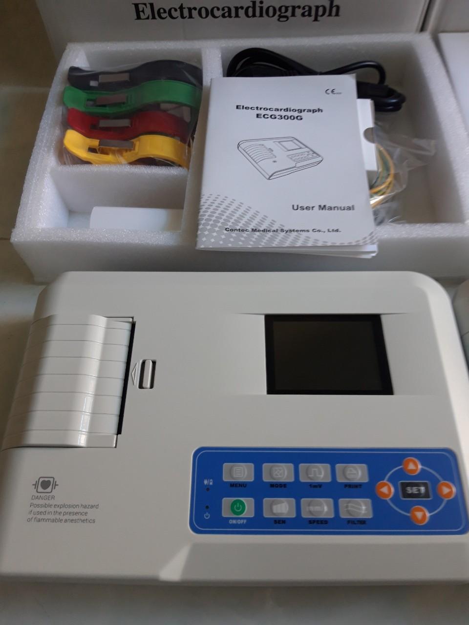 Máy Điện Tim 1 Cần CONTEC ECG100G