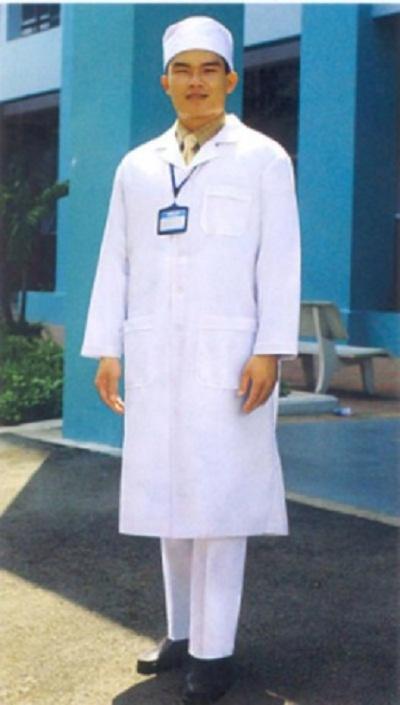 Áo bác sĩ nam,nữ dài tay