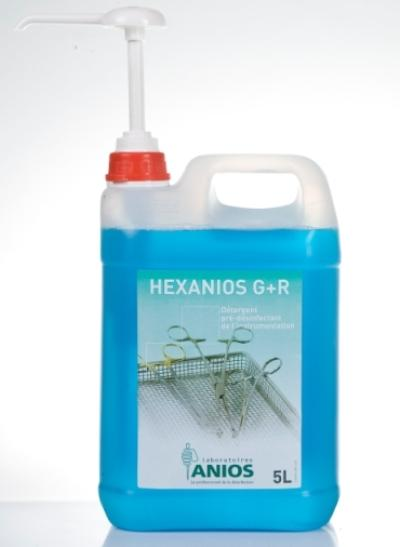 Dung dịch ngâm dụng cụ Hexanios G+ R