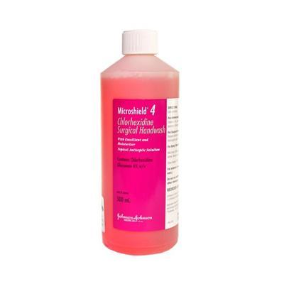 Dung dịch rửa tay phẫu thuật Microshield 4%