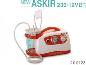 Máy hút dịch trên xe cứu thương New ASKIR 230/12V BR