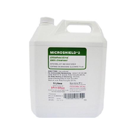 Dung dịch rửa tay sát khuẩn Microshield Chlorhexidine 2% 5 lít