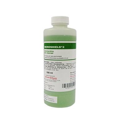 Dung dịch rửa tay sát khuẩn Microshield Chlorhexidine 2% 500ml