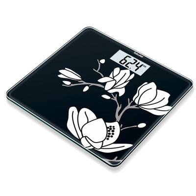 Cân điện tử mặt kính hoa văn Beurer GS211 Magnolia
