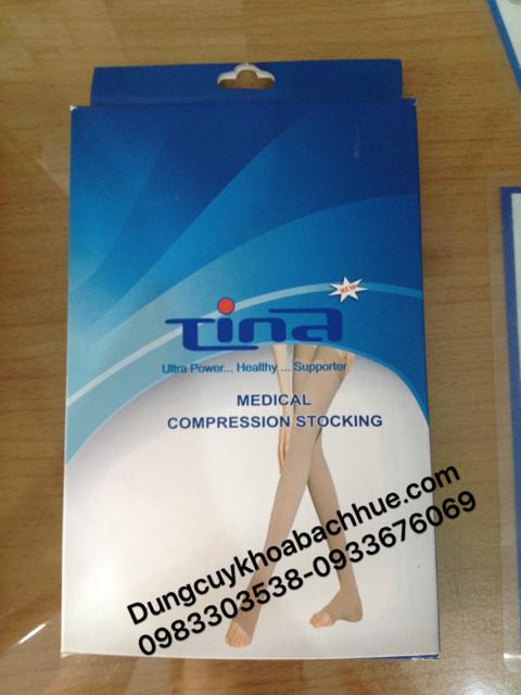 Vớ y khoa điều trị giãn tĩnh mạch Tina - Vớ Đùi