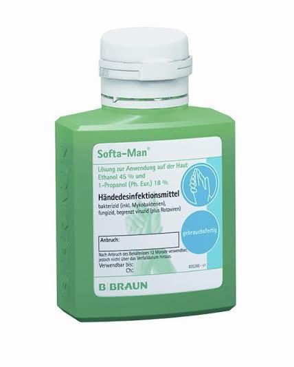 Dung dịch rửa tay sát khuẩn nhanh Softa-Man 100ml