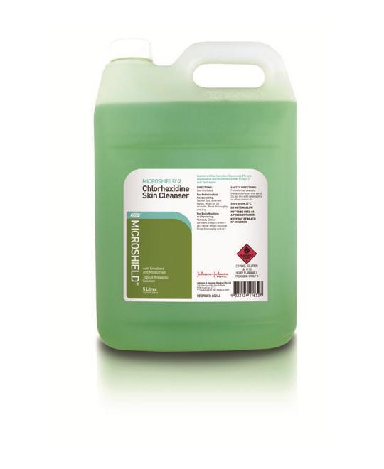 Dung dịch rửa tay phẫu thuật Microshield 2% 5 lit