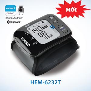 Máy đo huyết áp cổ tay Omron HEM-6232T