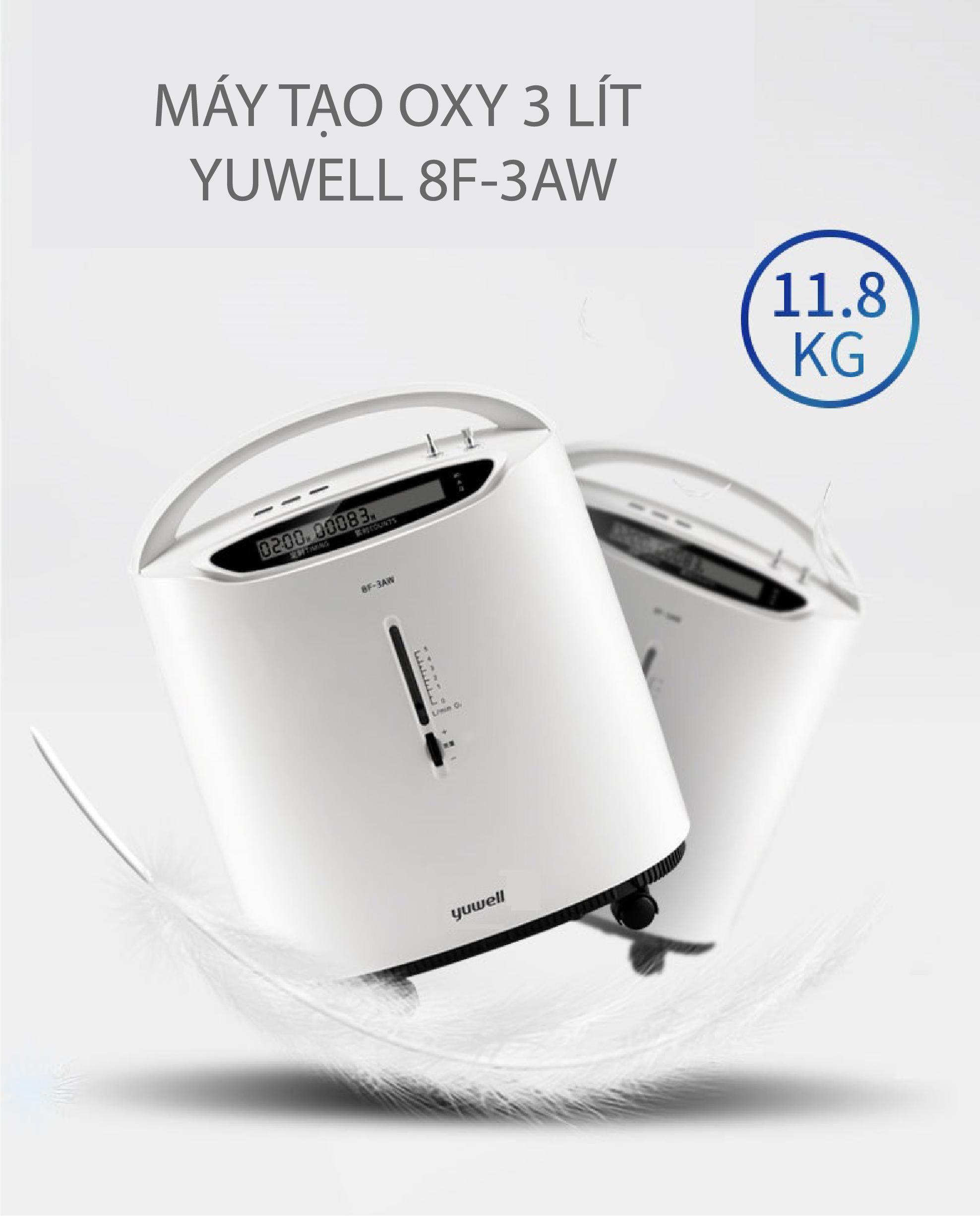 Máy tạo Oxy 3 lít Yuwell 8F-3AW