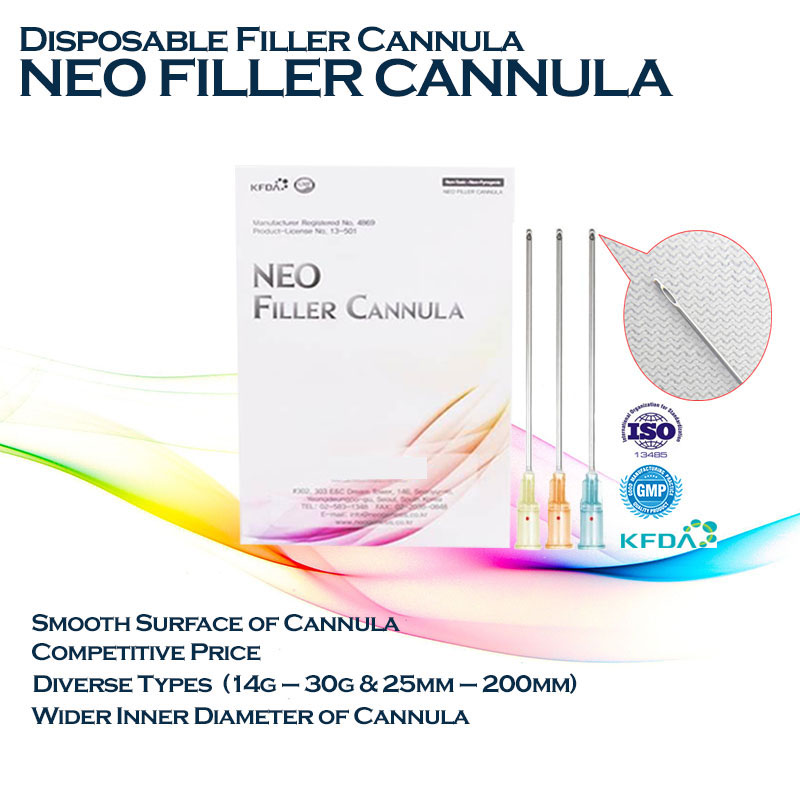 Kim Đầu Tù Cannula – Filler Cannula