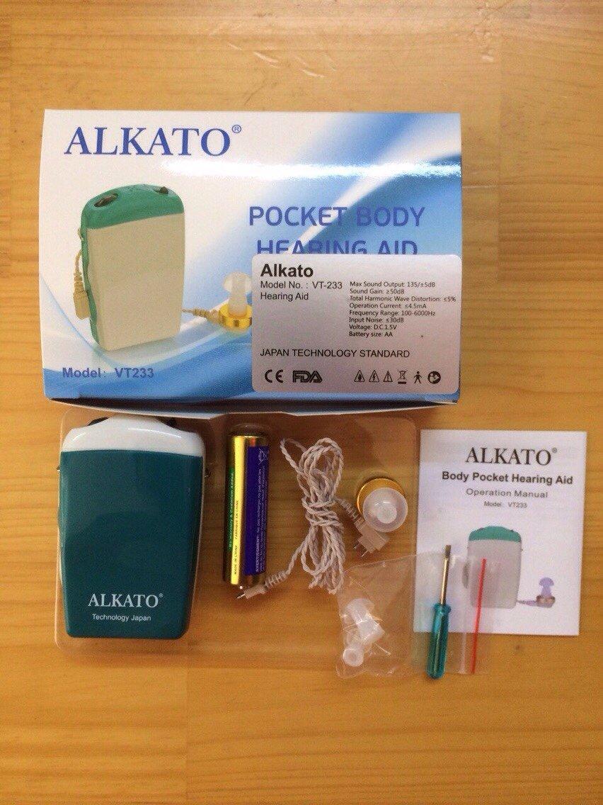 Máy trợ thính Alkato VT233