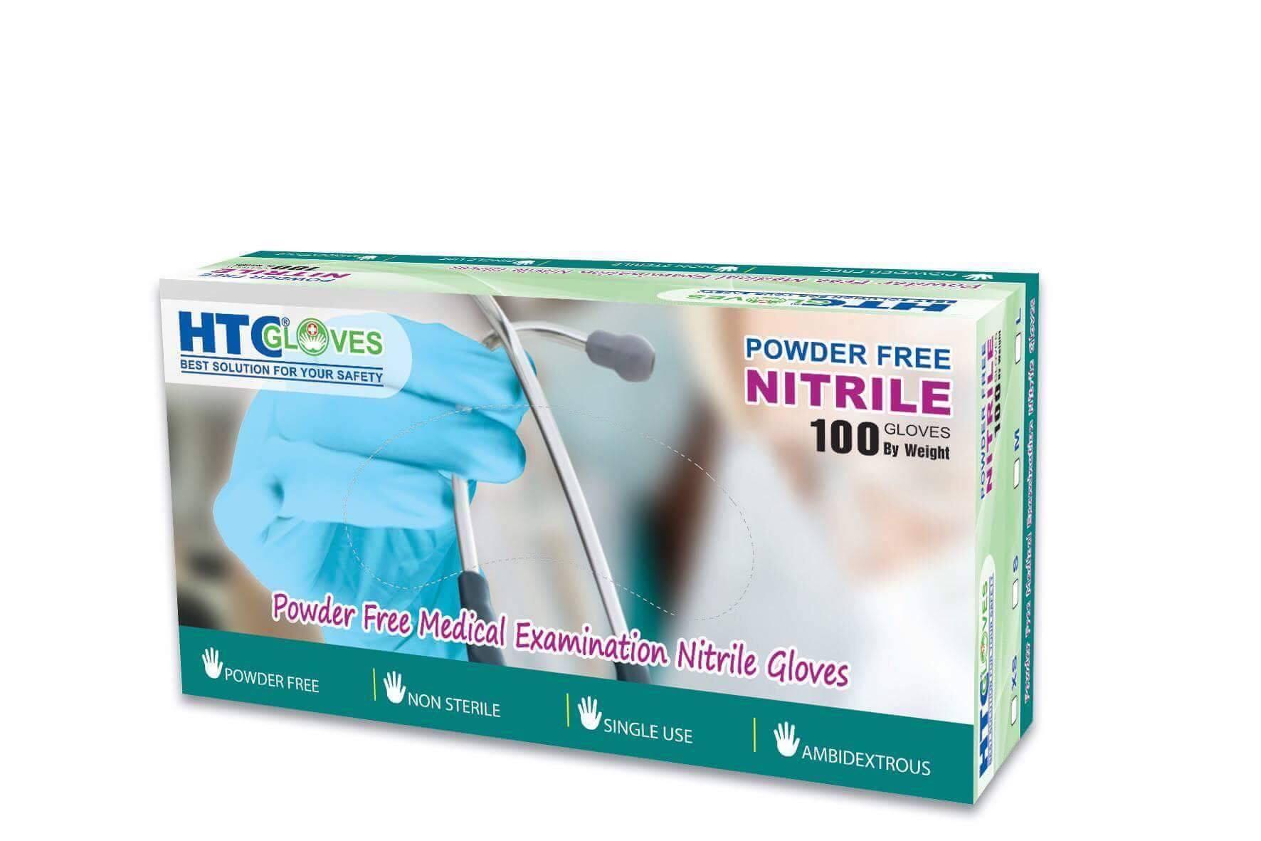 Găng tay y tế không bột HTC Glove