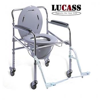 Ghế bô vệ sinh có bánh xe Lucass GX-300