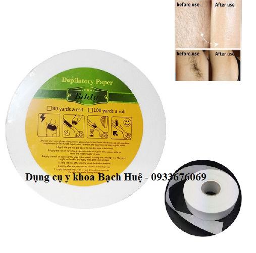 Giấy wax lông cuộn Depilatory Paper Liddy