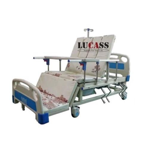 Giường bệnh nhân 4 tay quay Lucass BH-GB-T41