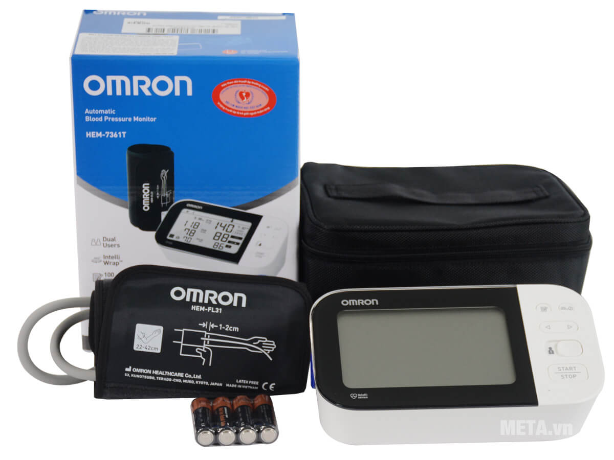Huyết áp điện tử Omron HEM 7361T