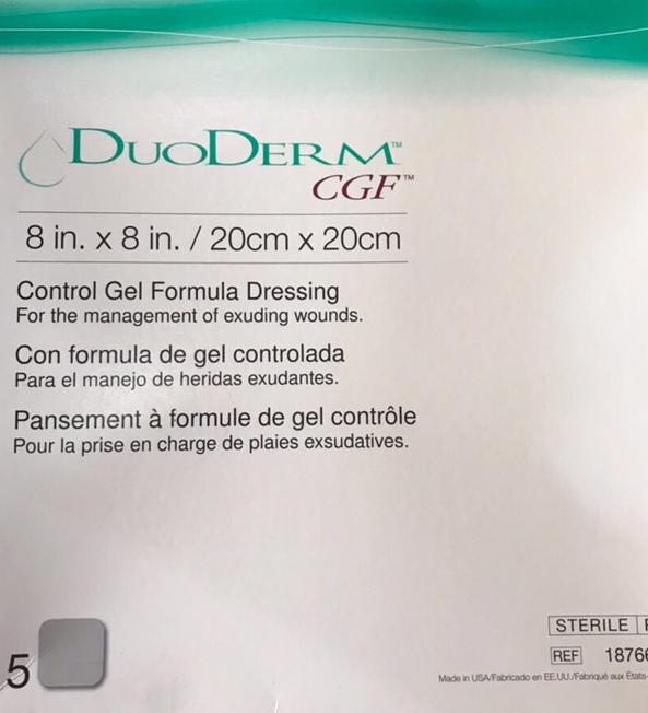 Miếng dán chống lở loét DuoDerm CGF