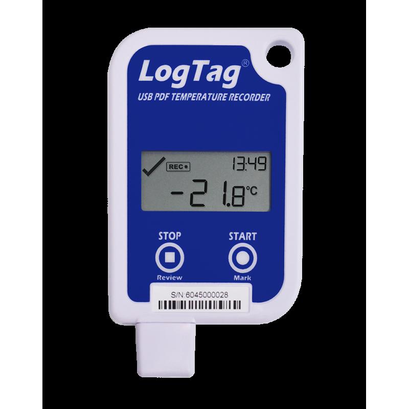 Nhiệt kế tự ghi nhiệt độ LogTag UTRID-16 có màng hình