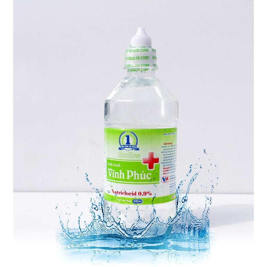 Nước muối sinh lý Natri Clorid 0.9%
